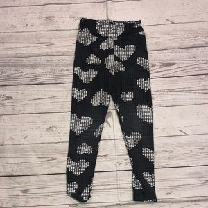 Lularoe heart leggings
